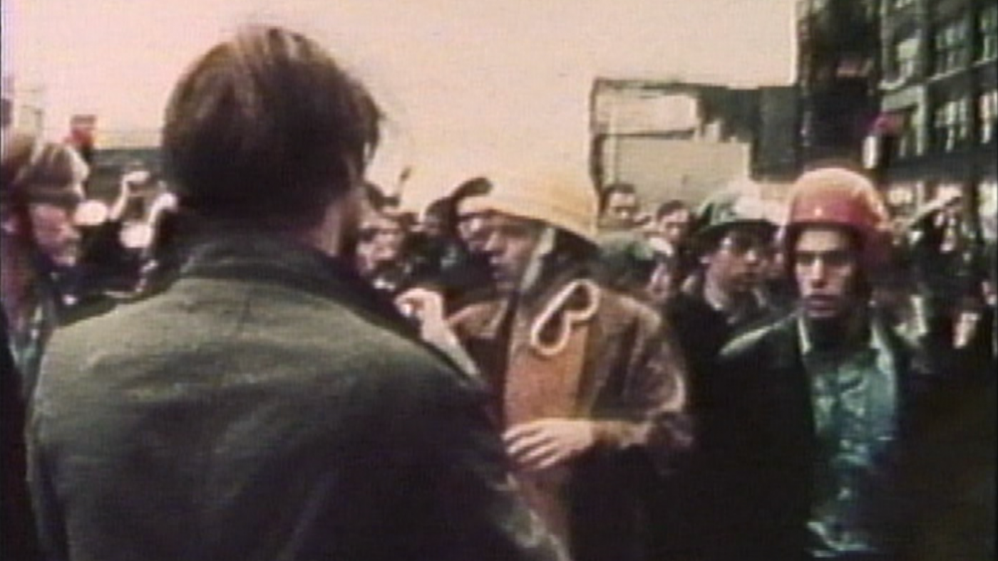 The Days of Rage in 1969 in Chicago. Image: From WTTW's Chicago Stories