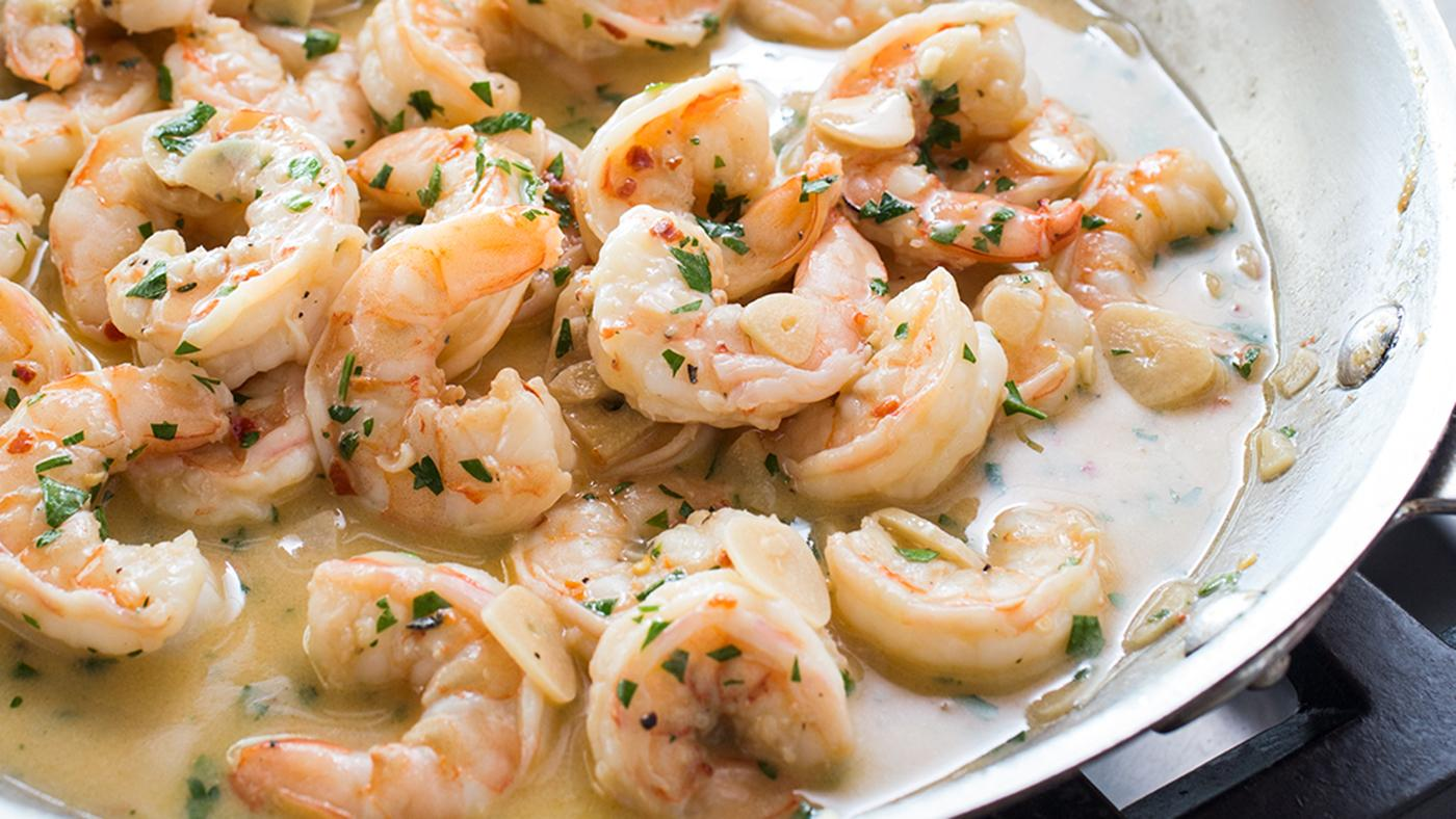 Shrimp Scampi from America's Test Kitchen. Photo: Carl Tremblay