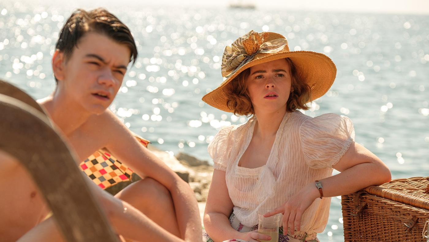 Gerry and Margo in the series finale of the Durrells in Corfu. Photo: Sid Gentle Films 2019