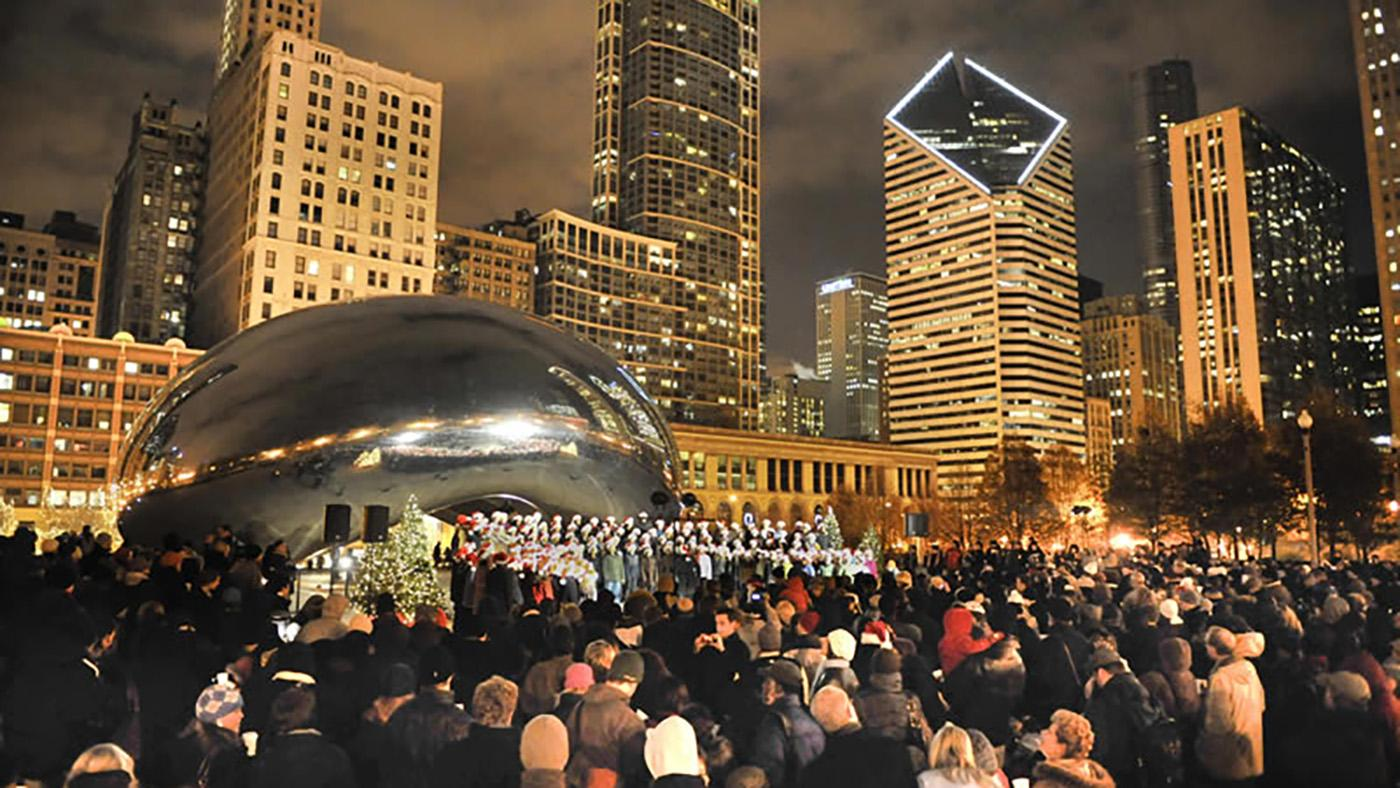 Cloud Gate Caroling
