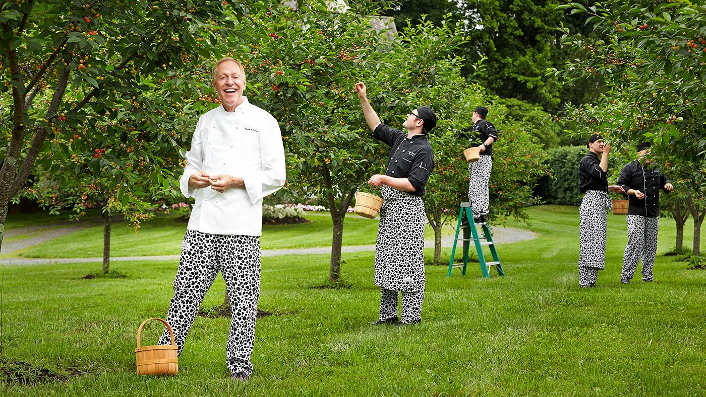 Chef Patrick O'Connell at The Inn at Little Washington. Photo: Greg Powers