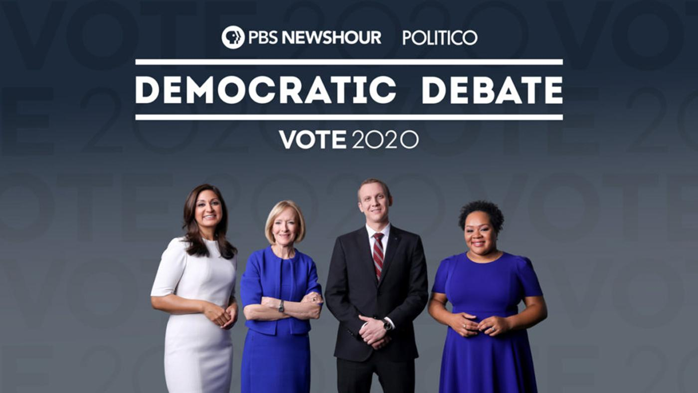 PBS NewsHour/Politico Democratic Debate