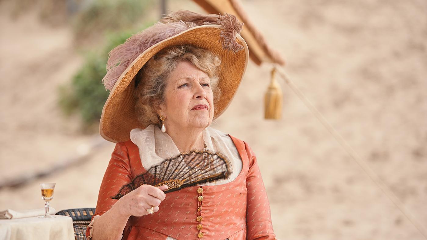 Lady Denham in Sanditon. Photo: Red Planet Pictures/ITV 2019