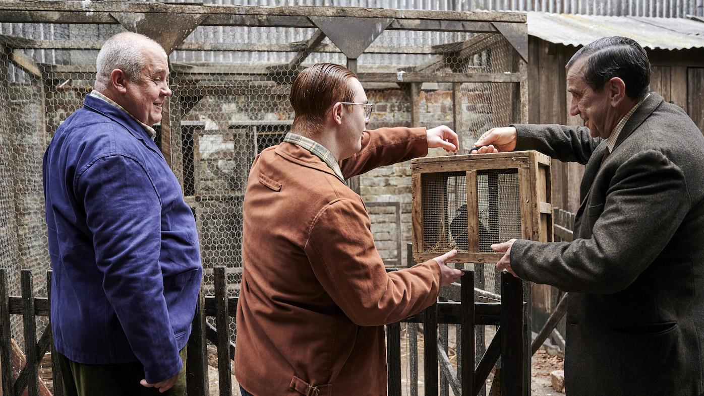 Fred, Reggie, and George Benson in 'Call the Midwife.' Photo: BBC / Neal Street Productions