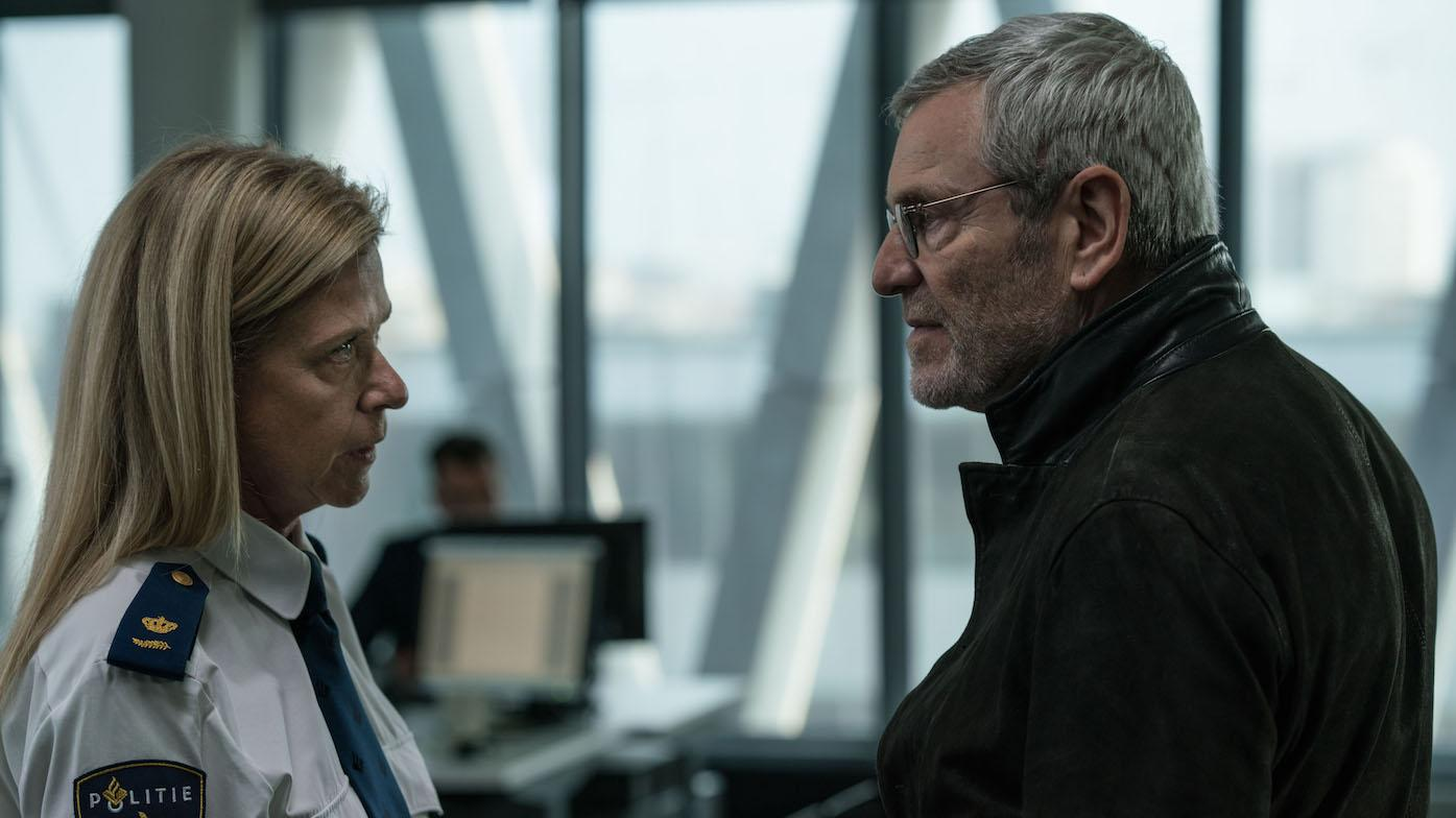 Julien Baptiste and Martha in 'Baptiste.' Photo: Two Brothers Pictures and all3media international