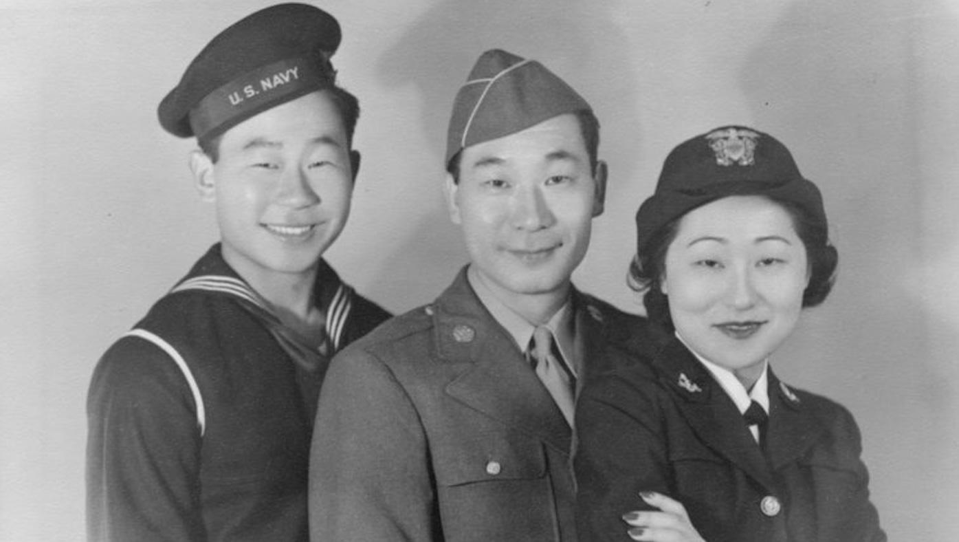 The Anh siblings. Photo: Asian Americans film