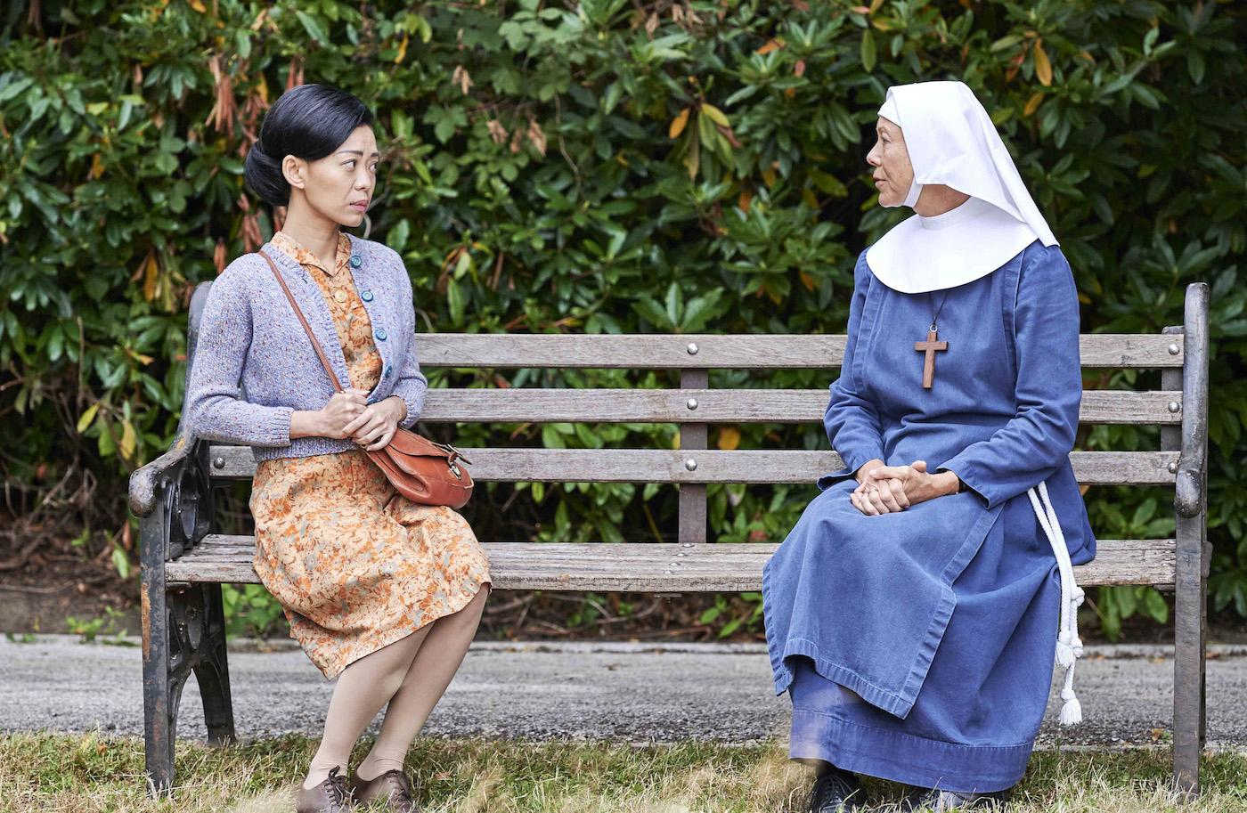 Esther Tang and Sister Julienne in 'Call the Midwife.' Photo: BBC / Neal Street Productions