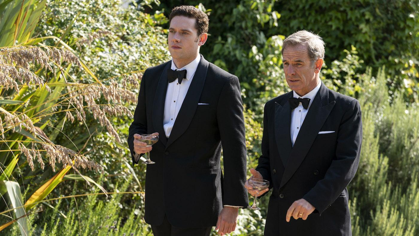 Will and Geordie in season 5 of Grantchester. Photo: Kudos/ITV/Masterpiece