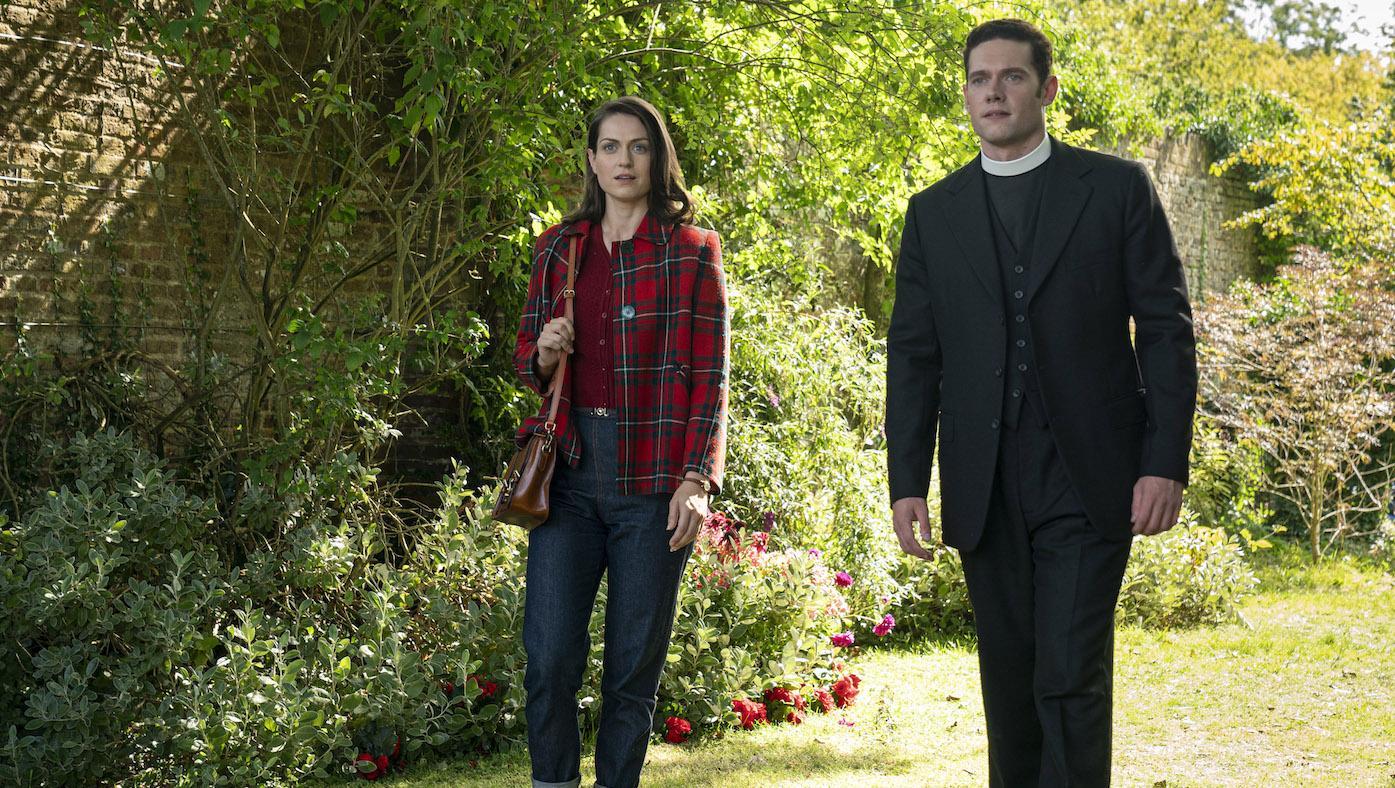 Ellie Harding and Will Davenport in 'Grantchester.' Photo: Kudos/ITV/Masterpiece
