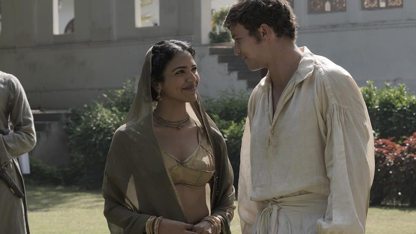 Chanchal and Daniel in 'Beecham House.' Photo: Masterpiece