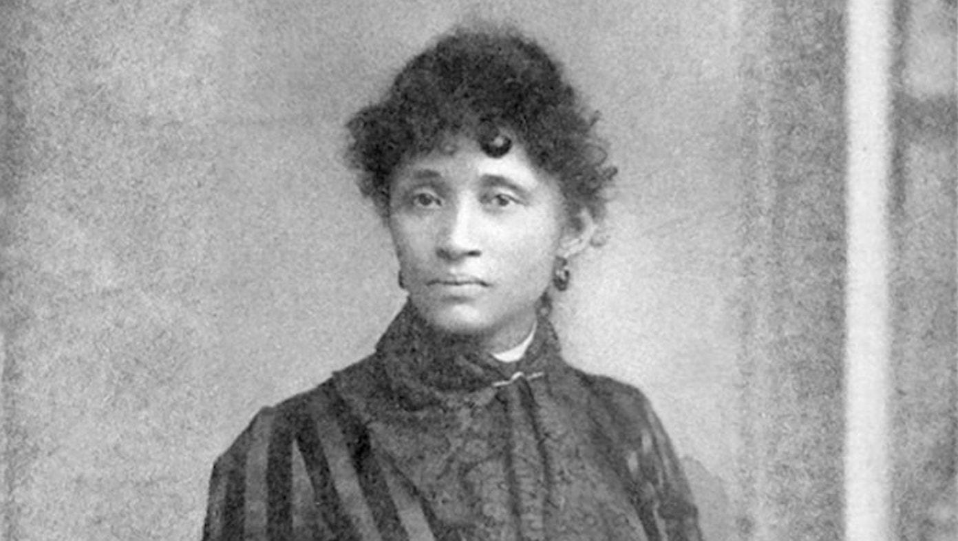 Lucy Parsons in 1886. Photo: Wikimedia Commons