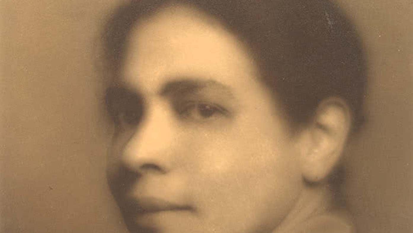 Nella Larsen in 1928. Photo: James Allen/Library of Congress, Harmon Foundation Records, Manuscript Division.