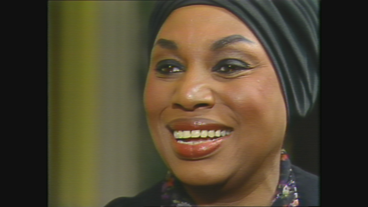 Leontyne Price on WTTW's 'Callaway Interviews' in 1981