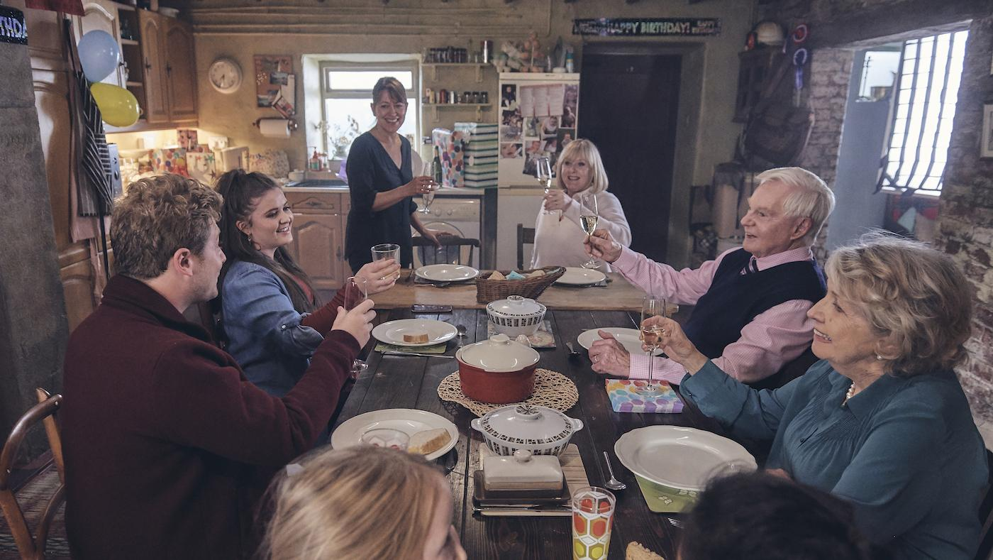 Last Tango in Halifax season 5. Photo: Stuart Wood