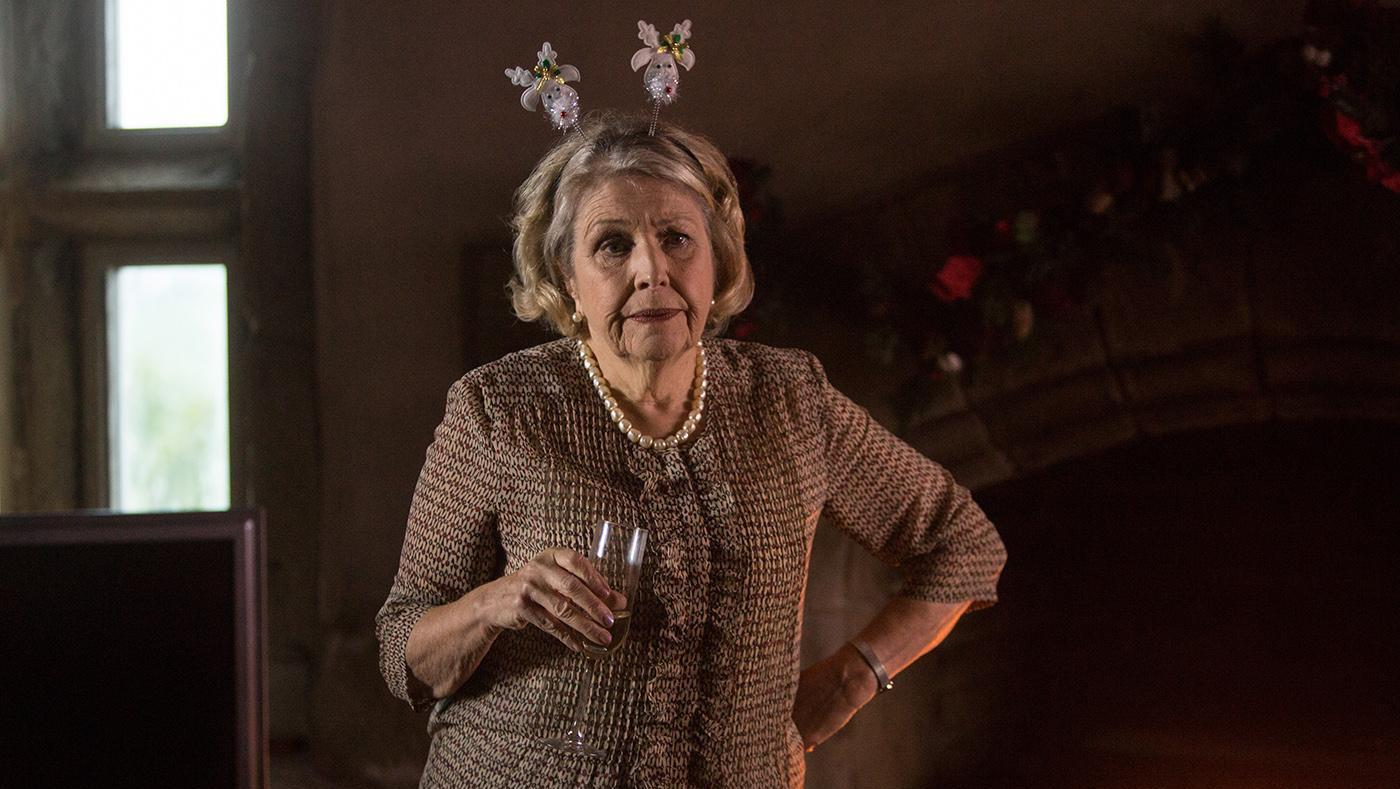 Celia in the 'Last Tango in Halifax' holiday special. Photo: BBC/Red Productions/Matt Squire