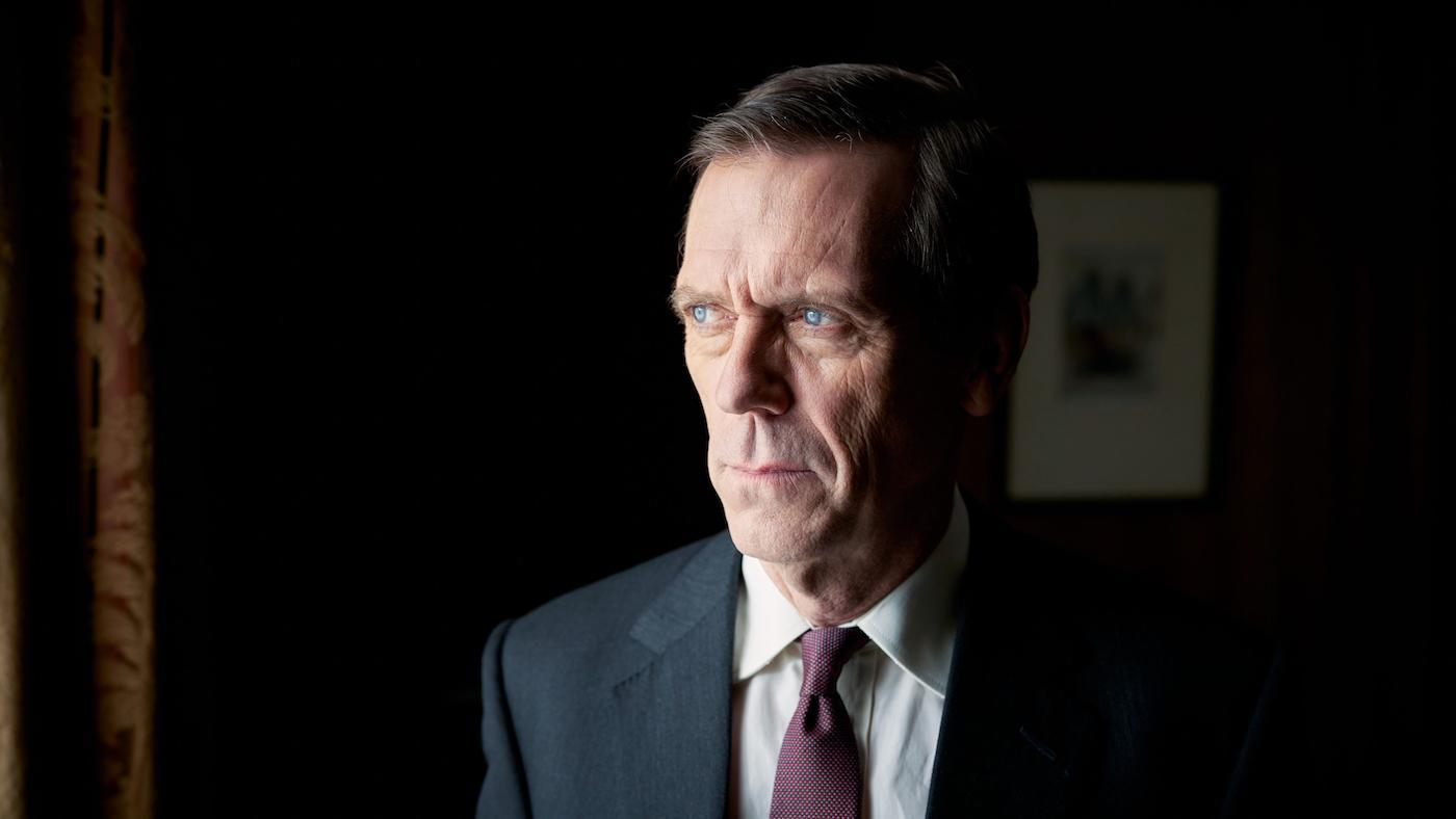 Hugh Laurie as Peter Laurence in 'Roadkill.' Photo: The Forge/Robert Viglasky