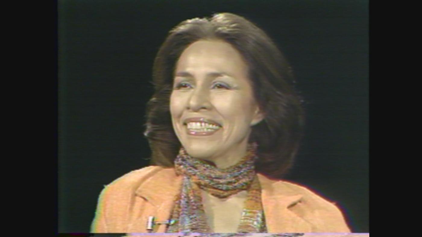Ballerina Maria Tallchief on WTTW's 'Callaway Interviews' in 1978