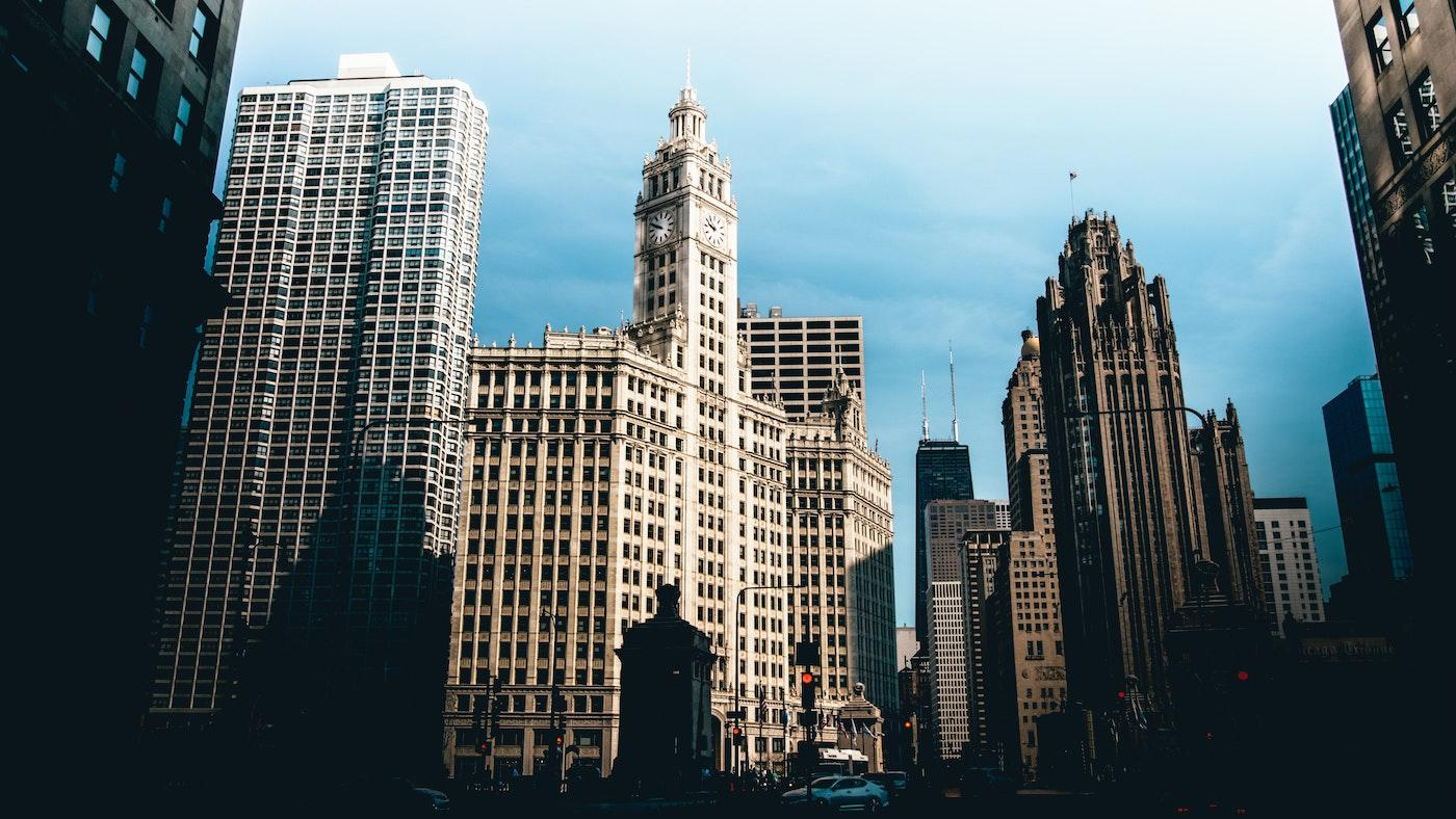 The Wrigley Building and Tribune Tower in Chicago Photo: Sawyer Bengtson on Unsplash
