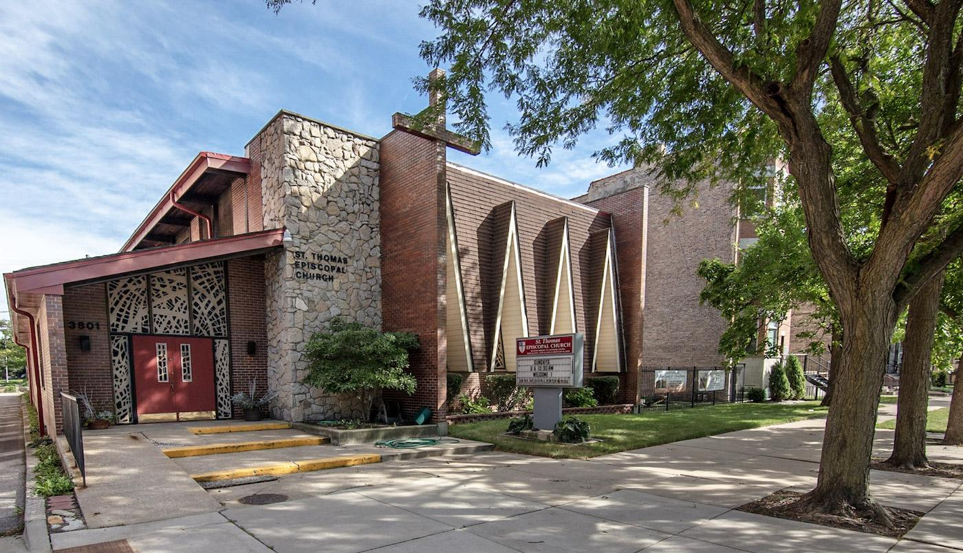 St. Thomas Episcopal Church in Chicago's Bronzeville neighborhood. Photo: Lee Bey