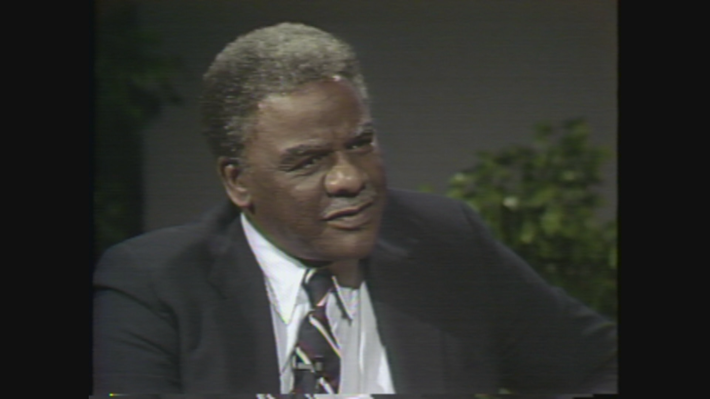Harold Washington on WTTW's 'Callaway Magazine' in 1983
