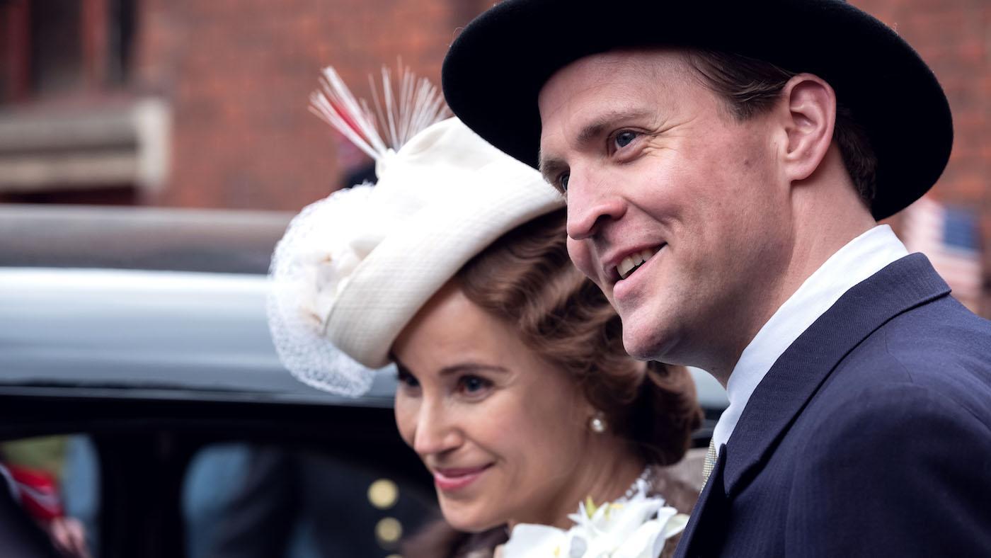 Crown Princess Märtha and Crown Prince Olav in 'Atlantic Crossing'