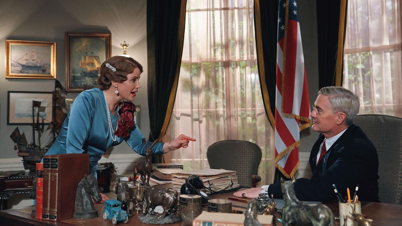 Crown Princess Märtha and President Franklin D. Roosevelt in 'Atlantic Crossing'