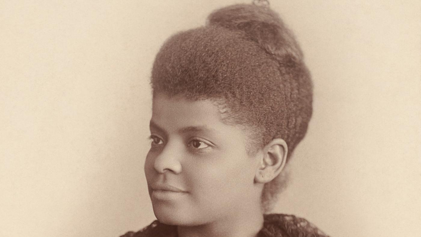 A young Ida B. Wells
