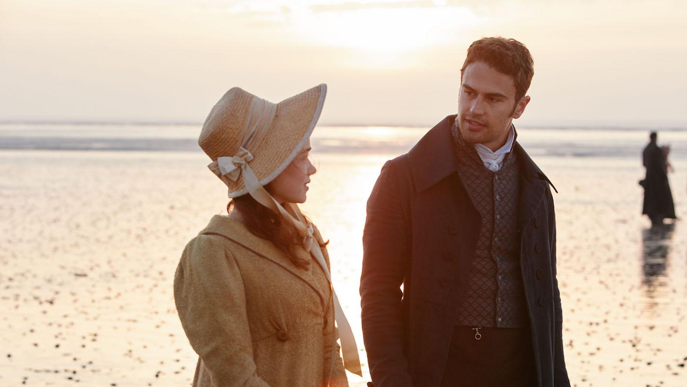 Charlotte and Sidney on the beach in 'Sanditon.' Photo: Red Planet Pictures/ITV 2019