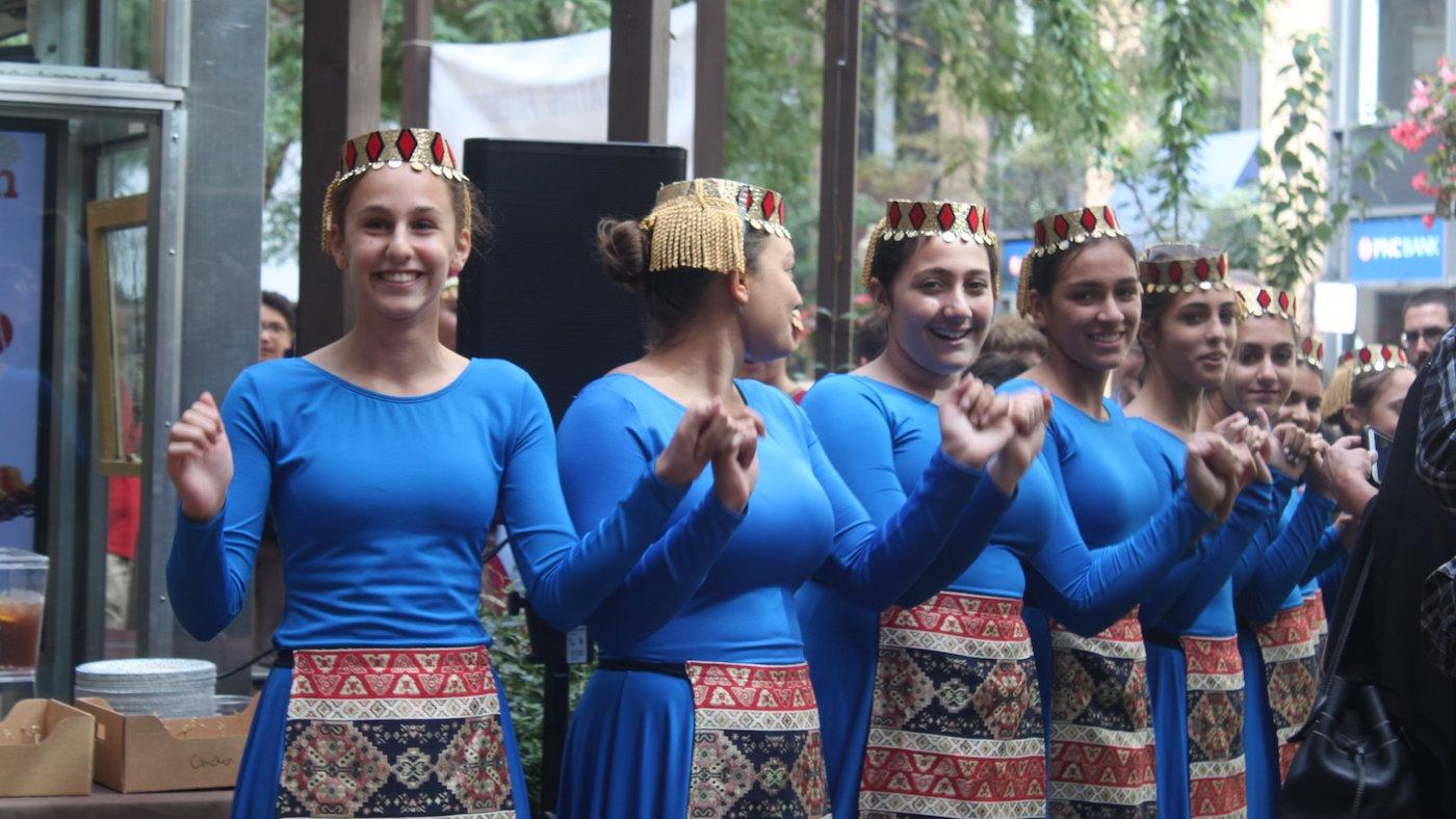 A cultural performance sponsored by the Honorary Consulate of the Republic of Armenia in Chicago. Photo: Courtesy Honorary Consulate of the Republic of Armenia in Chicago