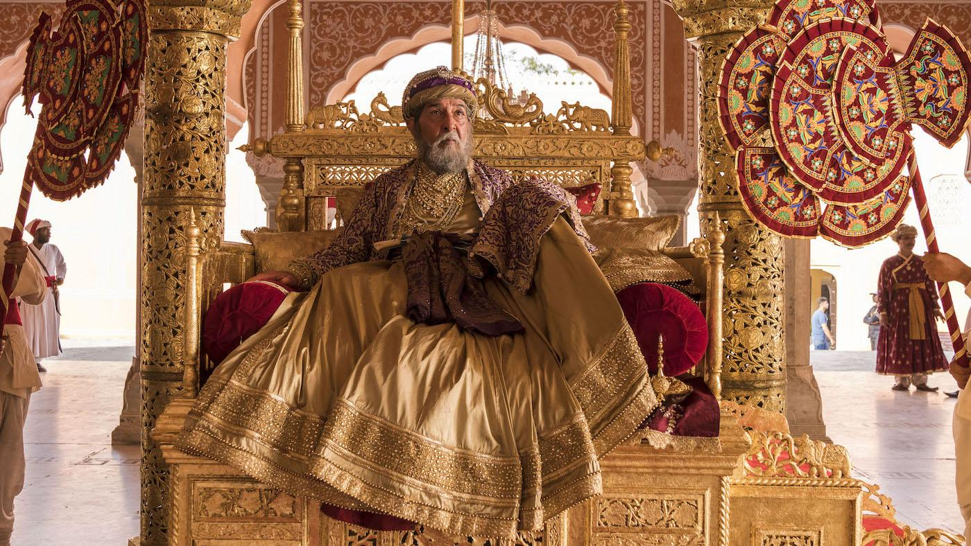 Shah Alam in 'Beecham House.' Photo: Masterpiece