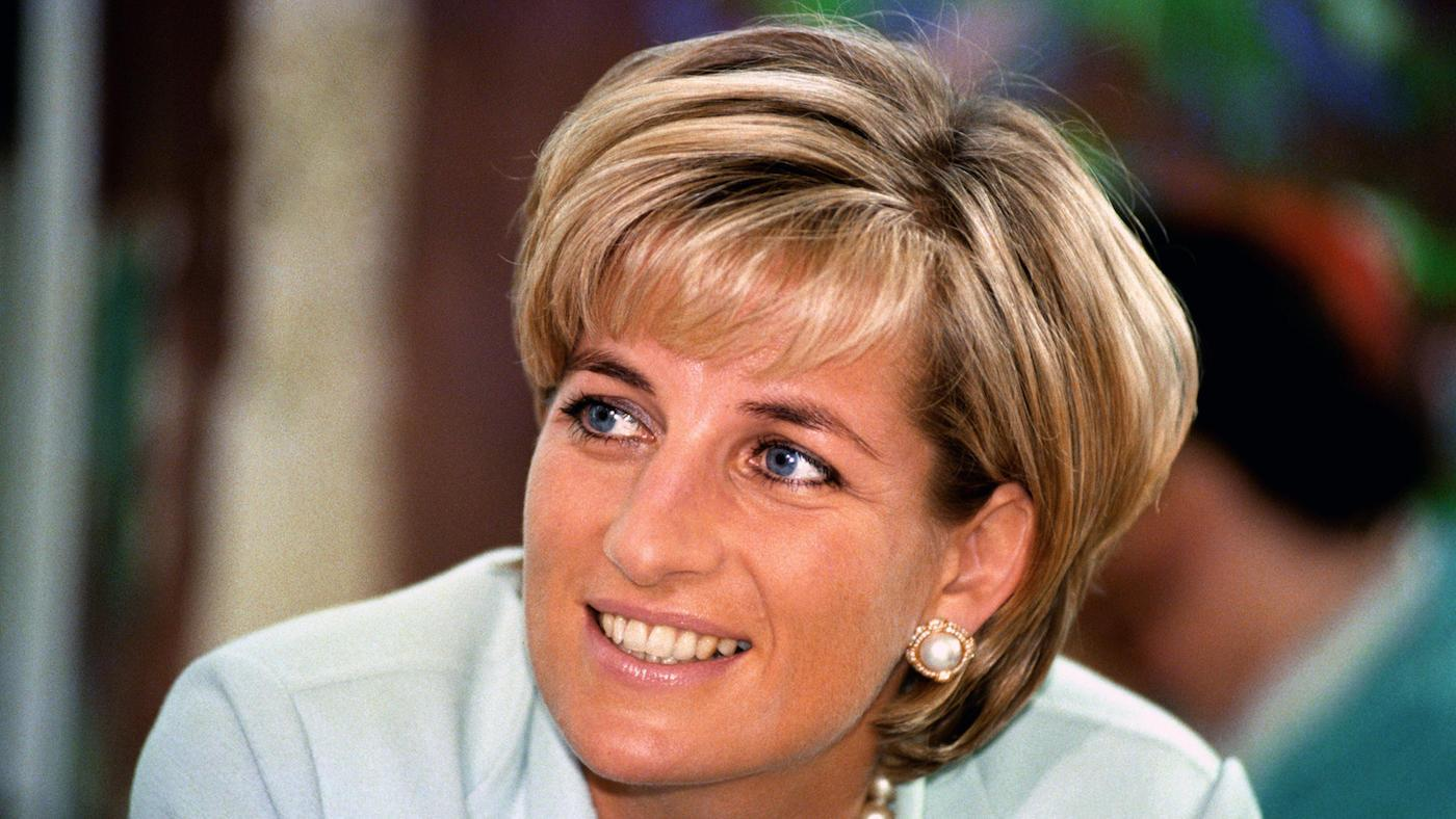 Princess Diana visits Leicester. Photo: PA Images / ALAMY Stock Photo