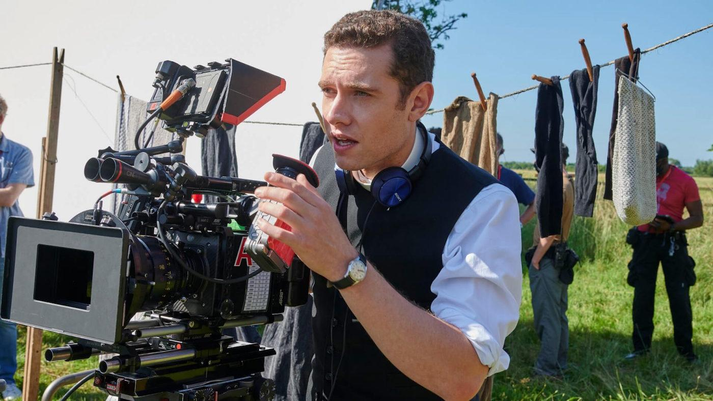 Tom Brittney directing an episode of 'Grantchester.' Photo: Courtesy Masterpiece