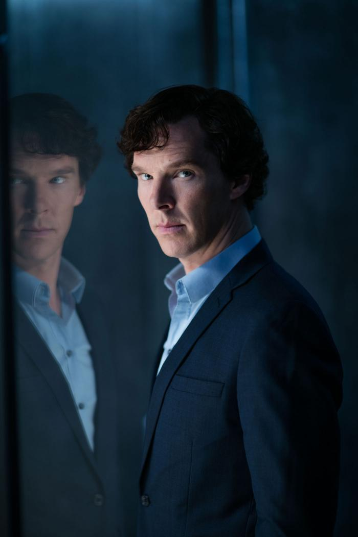Benedict Cumberbatch as Sherlock Holmes. (Laurence Cendrowicz/Hartswood Films & MASTERPIECE)
