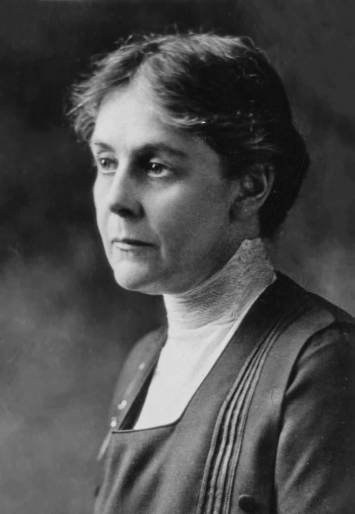 Alice Hamilton, the first woman to appointed to Harvard's faculty and a pioneering researcher in toxicology.