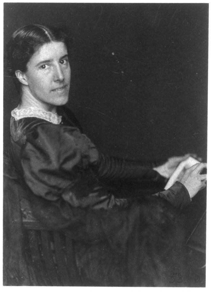 "Charlotte Perkins Gilman, prolific author best remembered for ""The Yellow Wallpaper."""