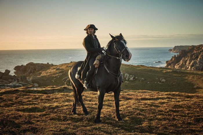 Poldark. Photo:  Robert Viglasky/Mammoth Screen