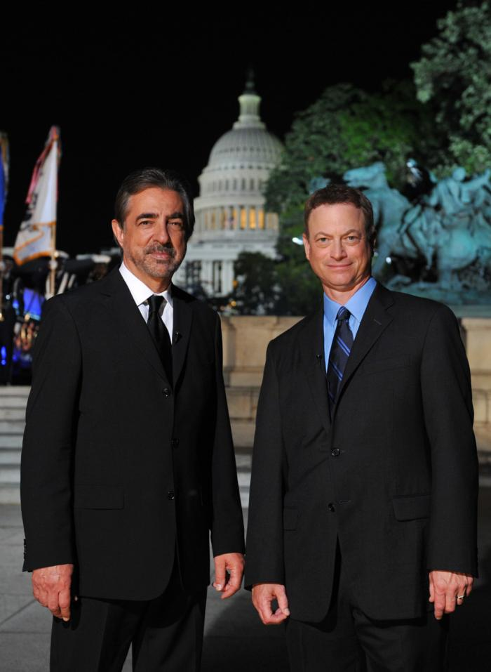 Joe Mantegna and Gary Sinise