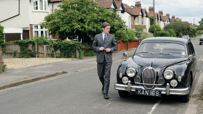 Shaun Evans as Detective Sergeant Endeavour Morse in Endeavour. Photo: ITV and MASTERPIECE