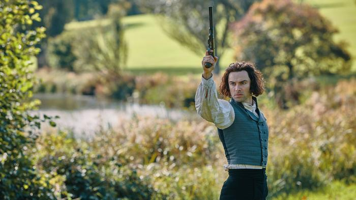 Aidan Turner as Ross Poldark. Photo: Mammoth Screen for MASTERPIECE