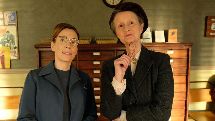 Shelagh and Miss Higgins in Call the Midwife. Photo: BBC/Neal Street Productions