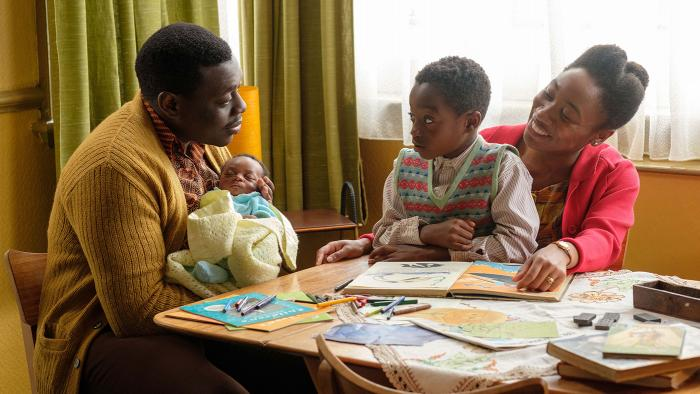 The Aidoo family in Call the Midwife.Photo: BBC/Neal Street Productions