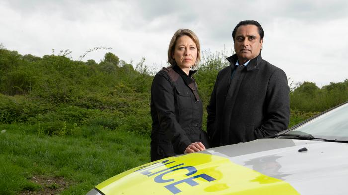 Cassie and Sunny in Unforgotten. Photo: Mainstreet Pictures for ITV and MASTERPIECE