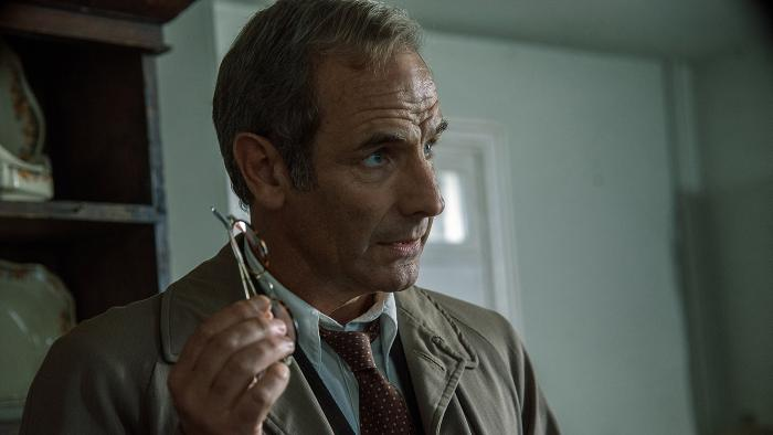 Geordie Keating in Grantchester. Photo: Kudos and MASTERPIECE
