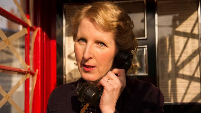 Fenella Woolgar as Alison Scotlock in 'Home Fires.' Photo: iTV Studios and MASTERPIECE