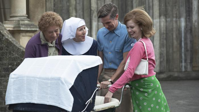 Nurse Crane and Sister Hilda in season 9 of 'Call the Midwife.' Photo: BBC / Neal Street Productions