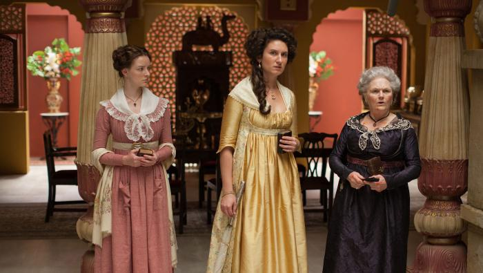 Margaret Osborne, Violet, and Henrietta Beecham in 'Beecham House.' Photo: Masterpiece