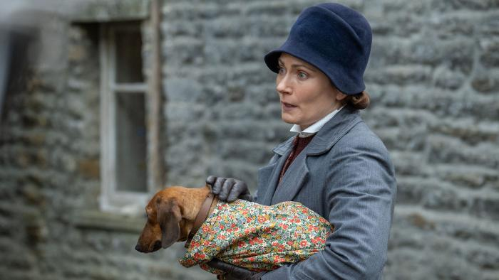 Mrs. Hall in 'All Creatures Great and Small.' Photo: Playground Television UK Ltd & all3media international