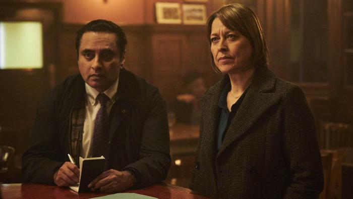 Cassie and Sunny in season four of 'Unforgotten.' Photo: Mainstreet Pictures LTD
