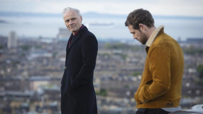 Mark Bonnar and Jamie Sives as Max and Jake McCall in 'Guilt.' Photo: Courtesy Expectation/Happy Tramp North