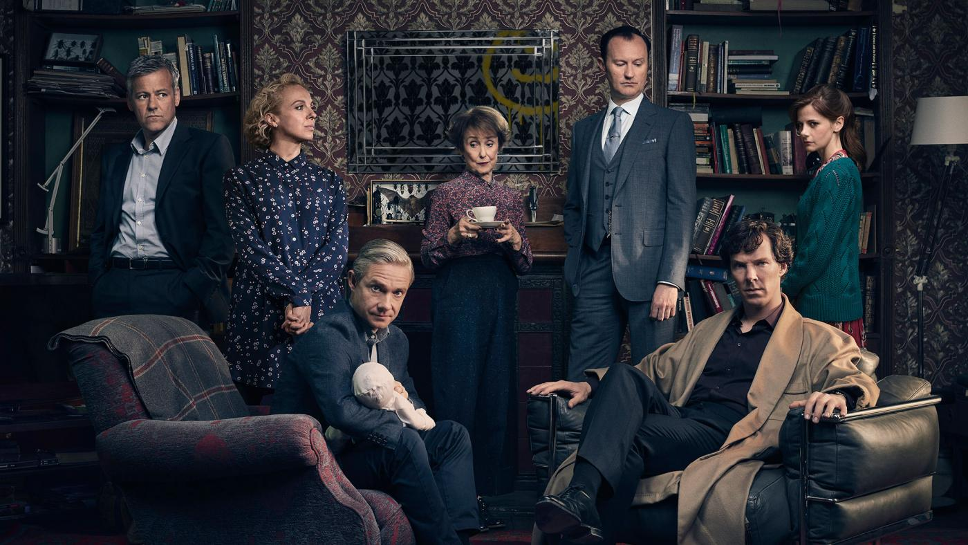 The cast of Sherlock is ready for a new season.